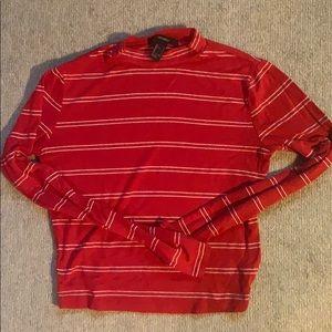 Forever 21 Red Long Sleeve